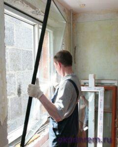 Замена стеклопакета в Егорьевске